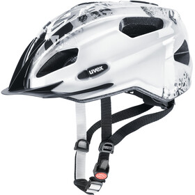 UVEX Quatro Junior Helmet white-grey